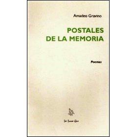 Postales de la memoria, poesías de Amadeo Gravino