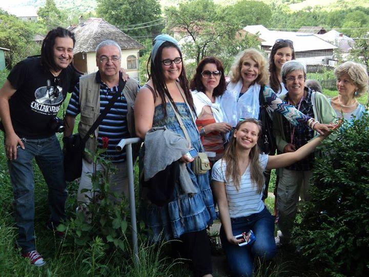 Algunos participantes, Curtea de Arges 2014, Poetry Nights
