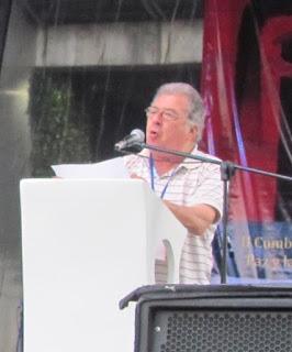 Eduardo Dalter en el XXV Festival Poesia de Medelllin