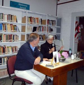 Jorge Bach con Cristina Daniele.