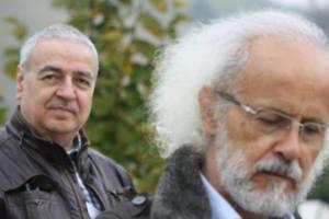 RIcardo Rubio y Giuseppe Napolitano. Fotografiados por Kamran Mir Hazar